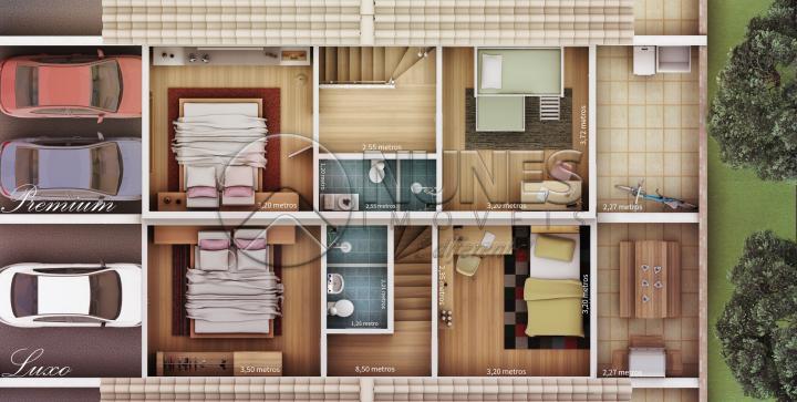Casa Sobrado Em Condominio de 2 dormitórios à venda em Chácara Martha, Francisco Morato - SP