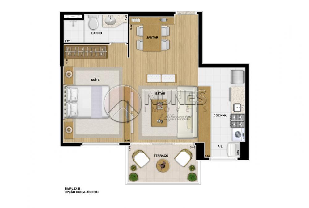 Apartamento de 1 dormitório à venda em Alphaville Conde Ii, Barueri - SP