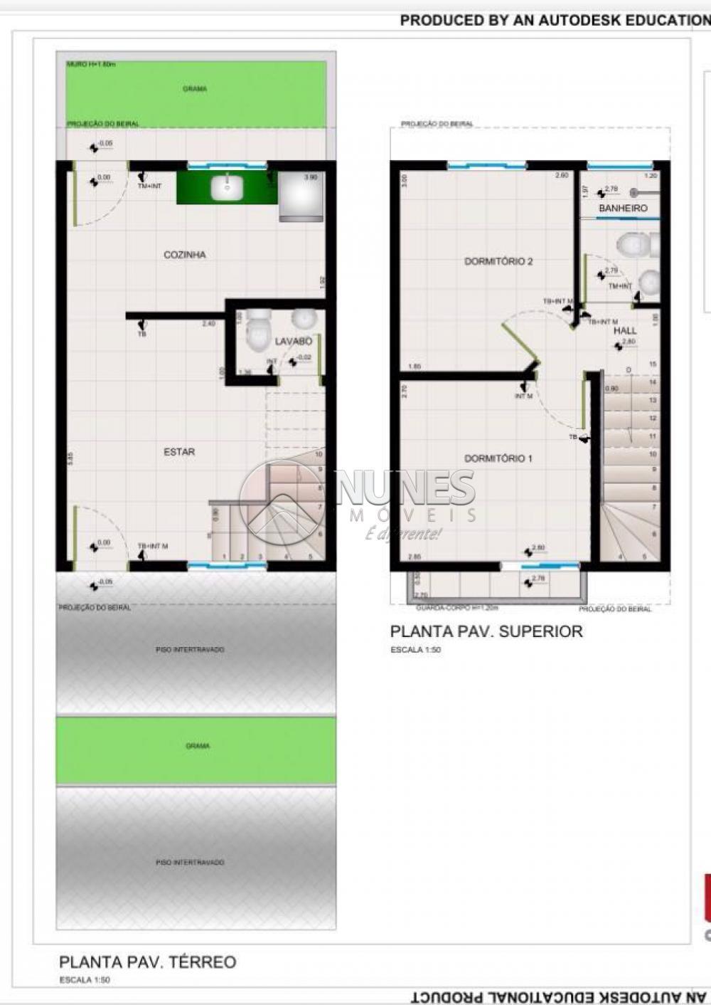 Casa De Condominio de 2 dormitórios à venda em Recanto Feliz, Francisco Morato - SP
