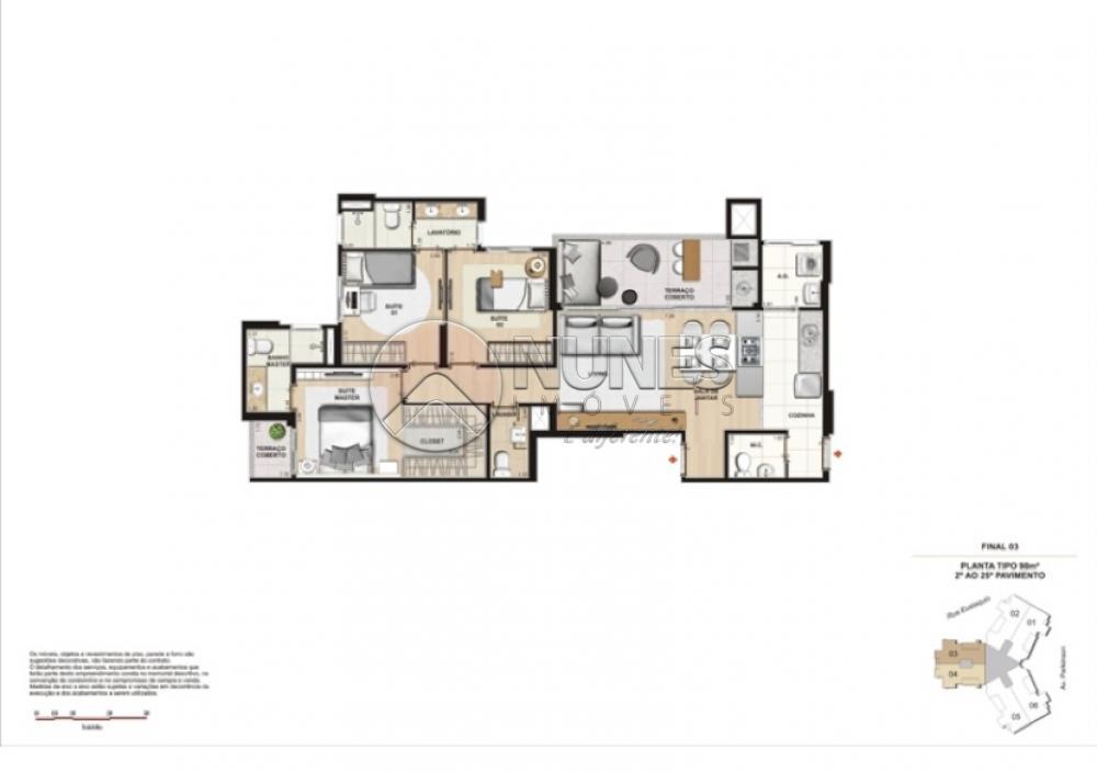Apartamento Padrao de 3 dormitórios à venda em Alphaville Empresarial, Barueri - SP