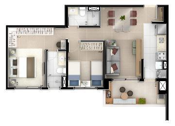 Comprar Apartamento / Padrão em Osasco apenas R$ 440.000,00 - Foto 3