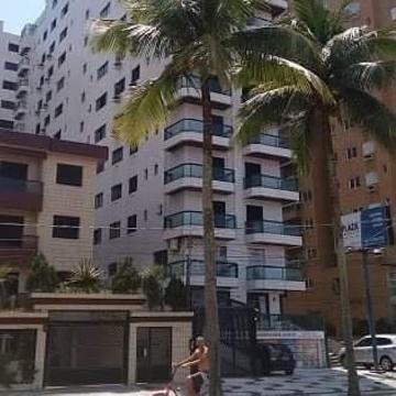 Praia Grande Canto do Forte Apartamento Venda R$800.000,00 3 Dormitorios 2 Vagas Area construida 134.00m2